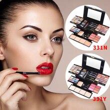 39 Цвета макияж комплект тени для глаз пудра рассыпчатая карандаш