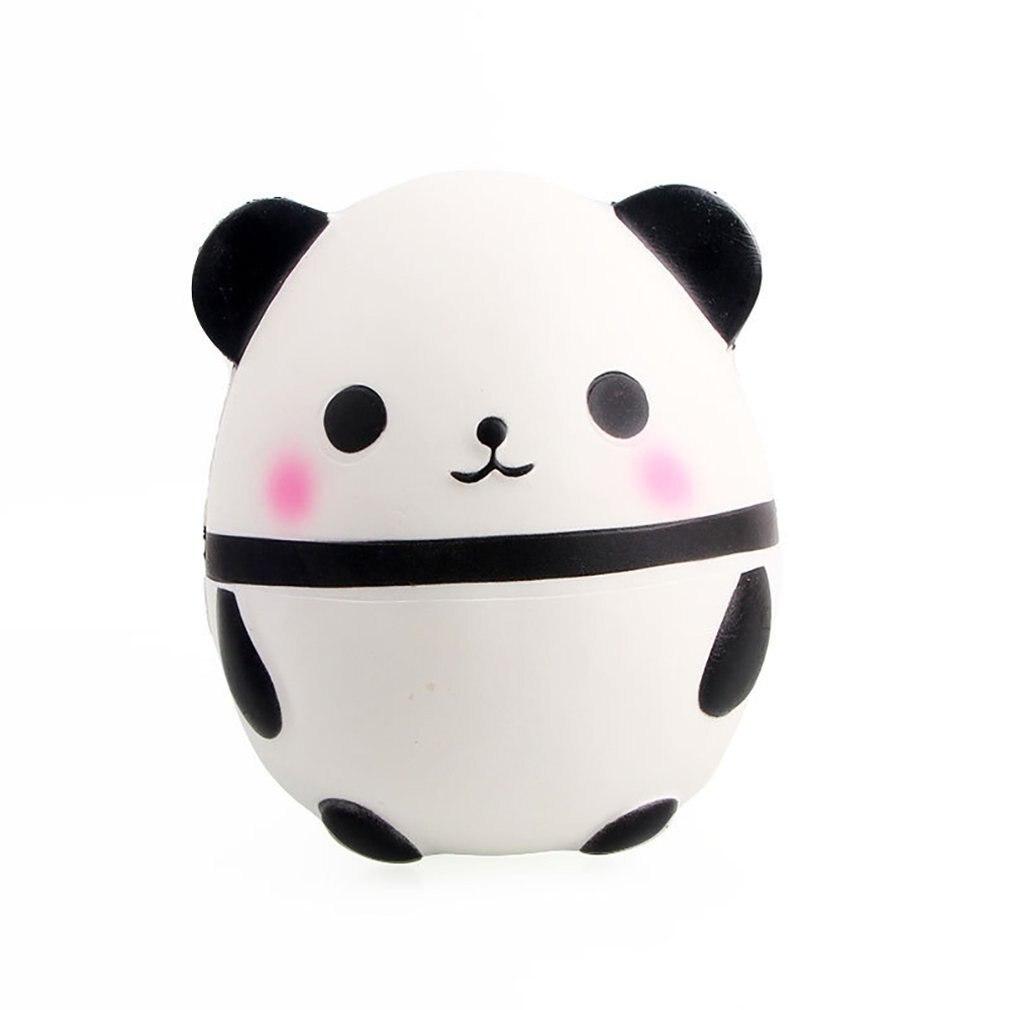Sleek Slow Rebound Giant Panda Egg Toy Slow Rebound Giant Panda Egg Simulation Model Pressure Release Toy