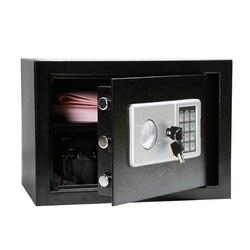 الفاخرة الرقمية إيداع قطرة خزينة حفظ الأموال مجوهرات المنزل فندق قفل ذكي لوحة المفاتيح سلامة خزنة أمان سر خبأ 7.5 كجم