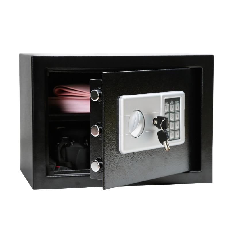Luxury Digital Depository Drop Cash Safe Box Jewelry Home Hotel Smart Lock Keypad Safety Security Box Secret Stash 7.5kg