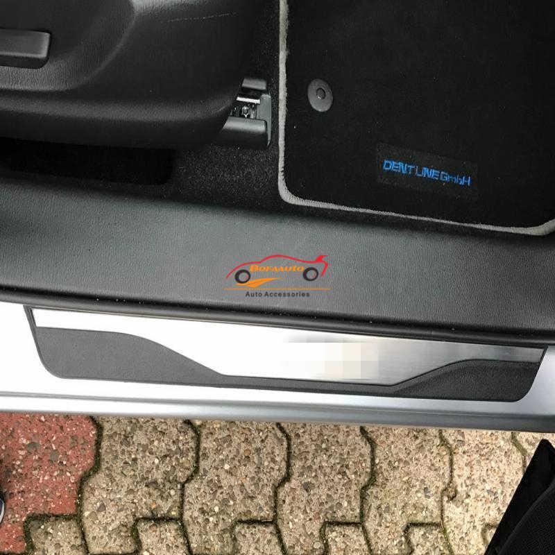 שפשוף צלחת מגן עבור קאיה ריו 3 4 דלת אדן רכב סטיילינג כיסוי דוושת אביזרי נירוסטה מדבקת 2015 2017 2019 2014