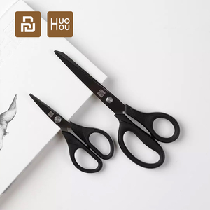 Image 2 - 2Pcs Youpin Huohou Titanium plated Scissors Black Sharp Sets Sewing Thread Antirust Pruning Scissor  E20 From Xiaomi Youpin