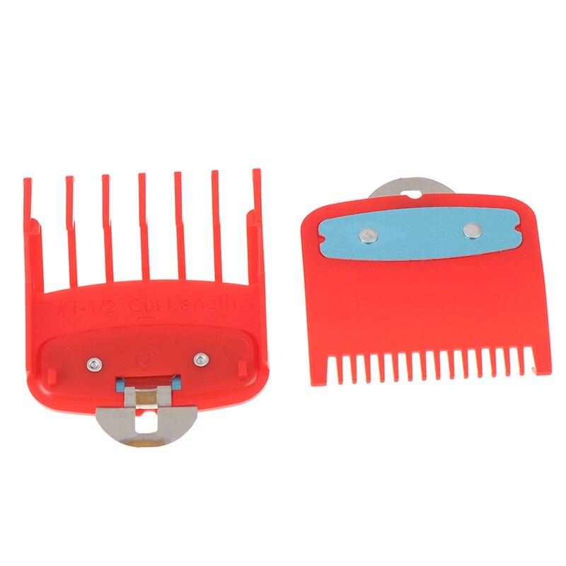 Image 4 - 2Ppcs (1.5 millimetri   4.5 millimetri) guida Pettine Set di 1.5 E  4.5 Millimetri Dimensioni di Colore Rosso Pettine Set Per Professionale  Tagliatore-in Tagliacapelli da Elettrodomestici su