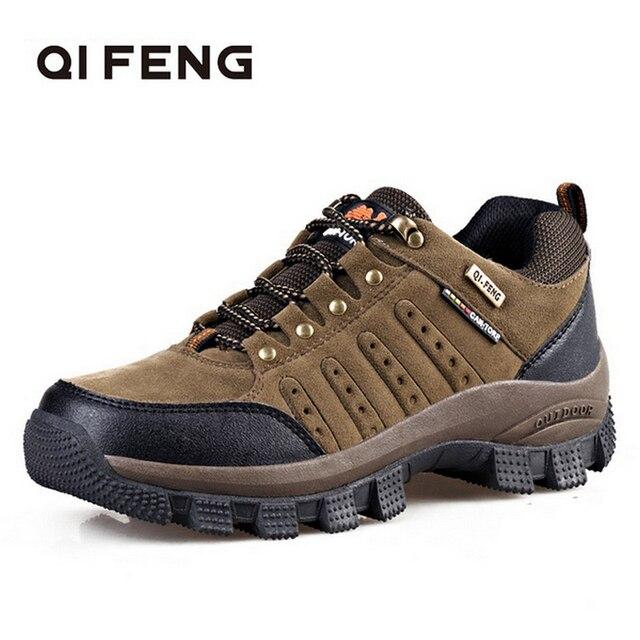 Hot Popular Men Women Outdoor Hiking Boots, Couples Mountain Climbing shoes,High Quality Sports Trekking Footwear, Work Shoes