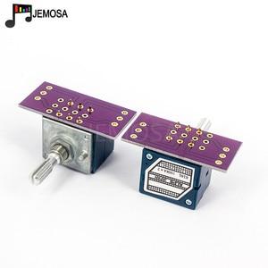Image 5 - 1PC יפן האלפים RK27 נפח יומן סטריאו פוטנציומטר 2 כנופיה כפולה 10 K/20 K/50 k/100 K/250 K פוטנציומטר מוט מחורץ + PCB