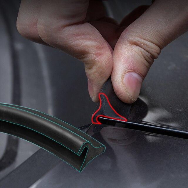 1.8M samochodów gumowy pasek uszczelniający osłona przedniej szyby Auto przednia szyba Spoiler dla Nissan Peugeot Hyundai Fiat KIA volkswagen ect