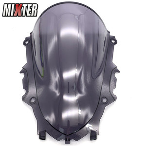 Image 5 - Motorcycle Racing Double Bubble Windshield WindScreen Visor Viser Deflector For YZF R3 V2 2019 2020 YZF R25 19 20 YZF R3 R25