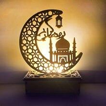 Moslim Beeldjes Ledeid Mubarak Houten Geschenken Kan Diy Decoratie Voor Eid Al Fitr Pesebres De Navidad Decoracion Miniaturen