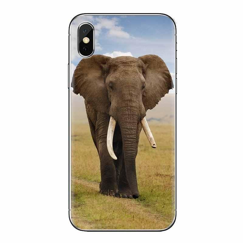צבעוני פיל חיות בר שבטי עבור שיאו mi אדום mi 4 3 3S פרו mi 3 mi 4 mi 4i mi 4C mi 5 mi 5S mi מקס הערה 2 3 4 רך פגז מכסה