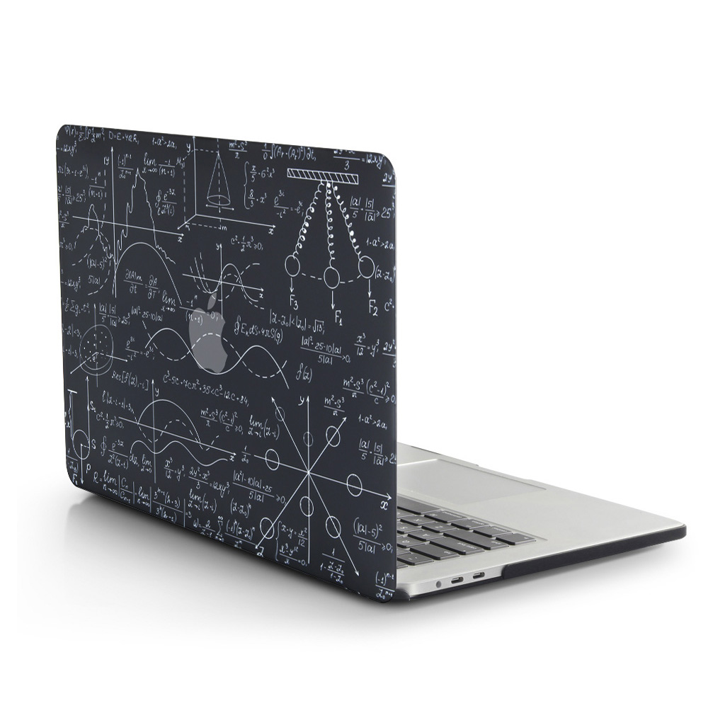 New 3D Printing Formula Case For MacBook Air Pro Retina 11 12 13 15 For Mac Book 13.3 15.4 Inch With Touch Bar+ Keyboard Cover