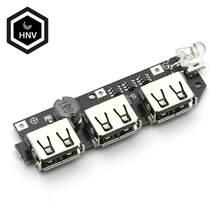 5V 1A 1.5A 2.1A 3 USB güç bankası şarj cihazı devre Step Up güçlendirme güç modülü + 5S 18650 li-ion durumda kabuk DIY kiti güç bankası