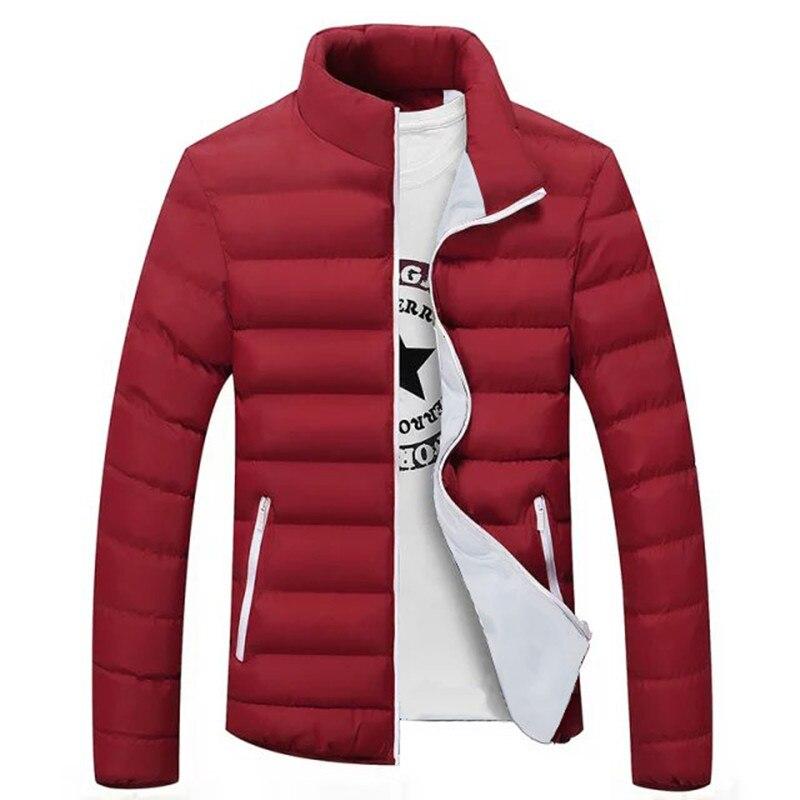 2019 New Mens Jackets Winter Hot Sale Parka Jacket Men Fashion Coats Slim Quality Casual Windbreak Warm Jackets Men 4XL 5XL 6XL