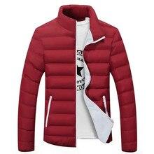 2020 ใหม่ Mens เสื้อแจ็คเก็ตฤดูหนาวขายร้อน Parka แจ็คเก็ตเสื้อแฟชั่นผู้ชาย Slim ลำลอง Windbreak WARM แจ็คเก็ตผู้ชาย 4XL 5XL 6XL