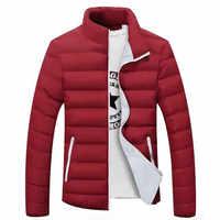 2020 Neue Herren Jacken Winter Heißer Verkauf Parka Jacke Männer Mode Mäntel Schlanke Qualität Lässig Windschutz Warme Jacken Männer 4XL 5XL 6XL