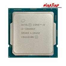 Процессор Intel Core i5-10600KF I5 10600KF 4,1 ГГц шестиядерный двенадцатипоточный процессор 65 Вт LGA1200