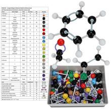 267 sztuk molekularny organiczny zestaw struktury nieorganicznej zestaw modeli Atom Link dla uczeń nauczyciel chemia atom Model molekularny tanie tanio CN (pochodzenie) Chemicznego