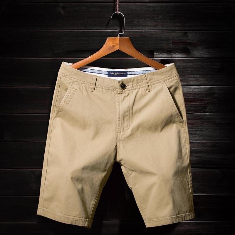 Summer Men'S Casual Shorts New Men'S Five-Point Pants Cotton Fashion Loose Style Beach Shorts Large Size 36 38 Men'S Shorts