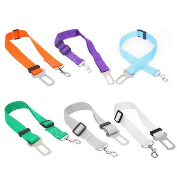 Pet Car Safety Belt Nylon Pets Dog Cat Seat Lead Leash Harness for Puppy Kitten Vehicle Security Leash image