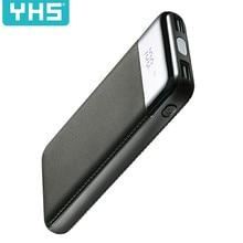 30000 мАч Внешний аккумулятор, внешний аккумулятор, 2 USB, ЖК-дисплей, внешний аккумулятор, портативное зарядное устройство для мобильного телефона, для Xiaomi Mi iphone XS Max 7 8
