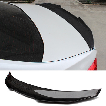 PS-0M Style Carbon fiber Trunks Spoiler For BMW 123456x6 Series E90 E92 G02 G30 M3 M4 F22 F16 F10 image