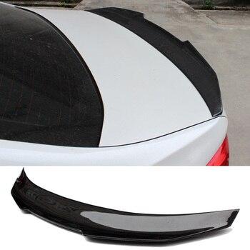 цена на PS-0M Style Carbon fiber Trunks Spoiler For BMW 123456x6 Series E90 E92 G02 G30 M3 M4 F22 F16 F10