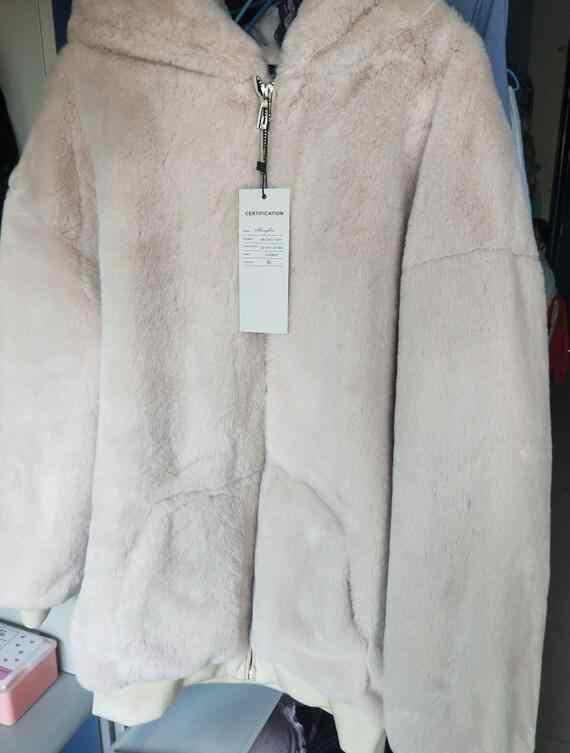 2020 abrigo de invierno largo suelto de maternidad chaquetas gruesas y cálidas con capucha de piel chaquetas de talla grande para mujeres embarazadas ropa de abrigo informal con cremallera chaquetas con mosca
