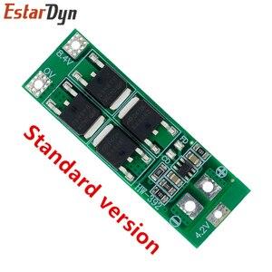 2S 20A 7,4 V 8,4 V 18650 Защитная плата литиевой батареи/плата BMS стандартная балансировочная версия|Интегральные схемы|   | АлиЭкспресс