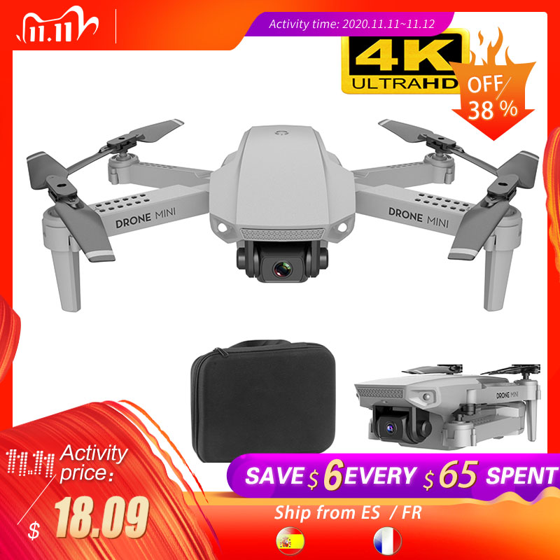 SHAREFUNBAY E88 drone 4k HD wide angle camera drone WiFi 1080p real time transmission FPV drone follow me rc Quadcopter|RC Quadcopter| - AliExpress