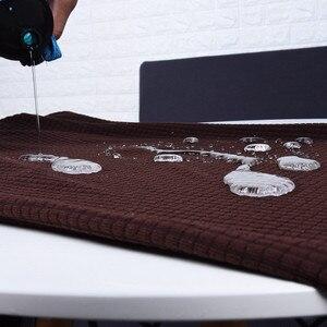 Image 4 - Wasserdicht Sofa Abdeckung Sofa Kissen Anti slip Pet Pad Windel Vier Jahreszeiten Sofa Handtuch Nordic Universelle Einfarbig