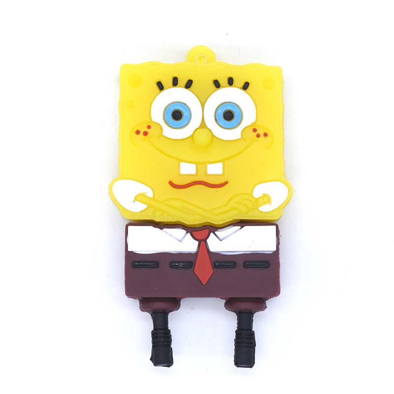 SpongeBob SquarePants Pena Drive 64GB 32GB 16GB 8GB 4GB Patrick Sta Kartun USB Flash Drive U Stick Flashdisk Anime Memory Stick