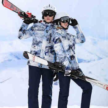 Winter Jacket Snowboard Jacket Snow Pants Ski Suit Men Snowboard Suit Women Winter Suit Men Ski Suit Women Skiing Sport Suits
