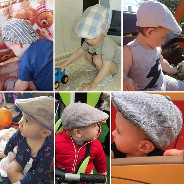 Fashion Comfortable Cotton Boy's Cap 5