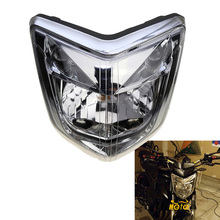 עבור 06 07 08 ימאהה FZ1 Fazer 2006 2007 2008 2009 אביזרי אופנוע פנס ראש אור מנורת פנס דיור הרכבה ערכת