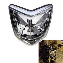 Para 06 07 08 yamaha fz1 fazer 2006 2007 2008, acessórios da motocicleta, lâmpada de farol, montagem do invólucro kit de