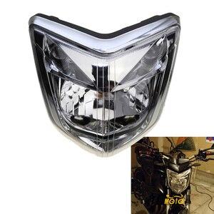 Image 1 - Para 06 07 08 yamaha fz1 fazer 2006 2007 2008, acessórios da motocicleta, lâmpada de farol, montagem do invólucro kit de