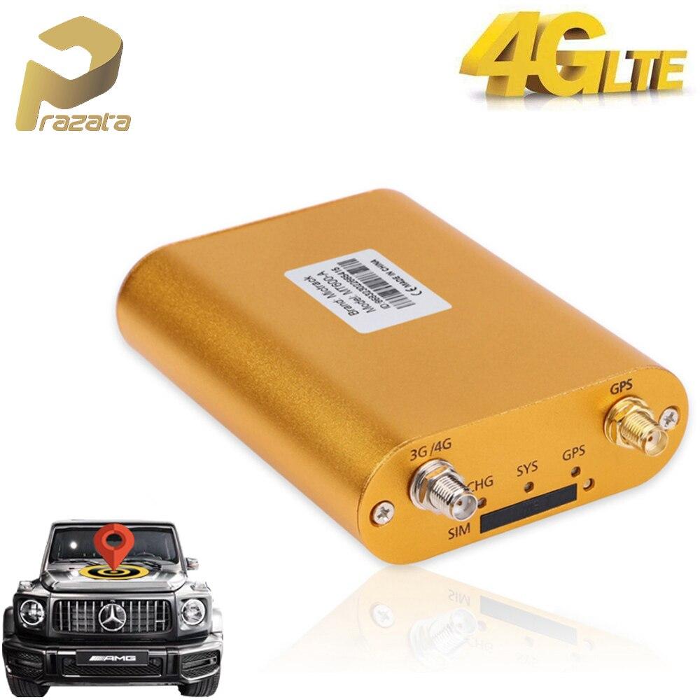 Prazata Car GPS Tracker 4G Vehicle GPS Tracker LTE 3G UTMS 2G GSM Locator Mileage Report Realtime Tracking 4G GPS Locator