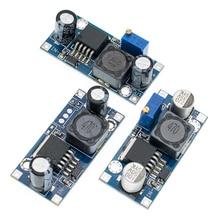 100 sztuk/partia LM2596S LM2596 LM2596 ADJ DC DC Step down moduł 5V/12V/24V regulowany regulator napięcia 3A
