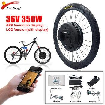 JS iMotor-Kit de conversión de Bicicleta eléctrica, 36V 350w Motor sin escobillas,...