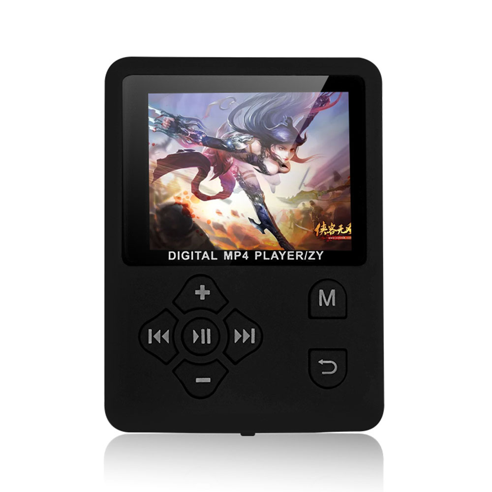 1.8 Inch Color Screen HiFi MP3 Player Support 32G TF Card Multi-Languages