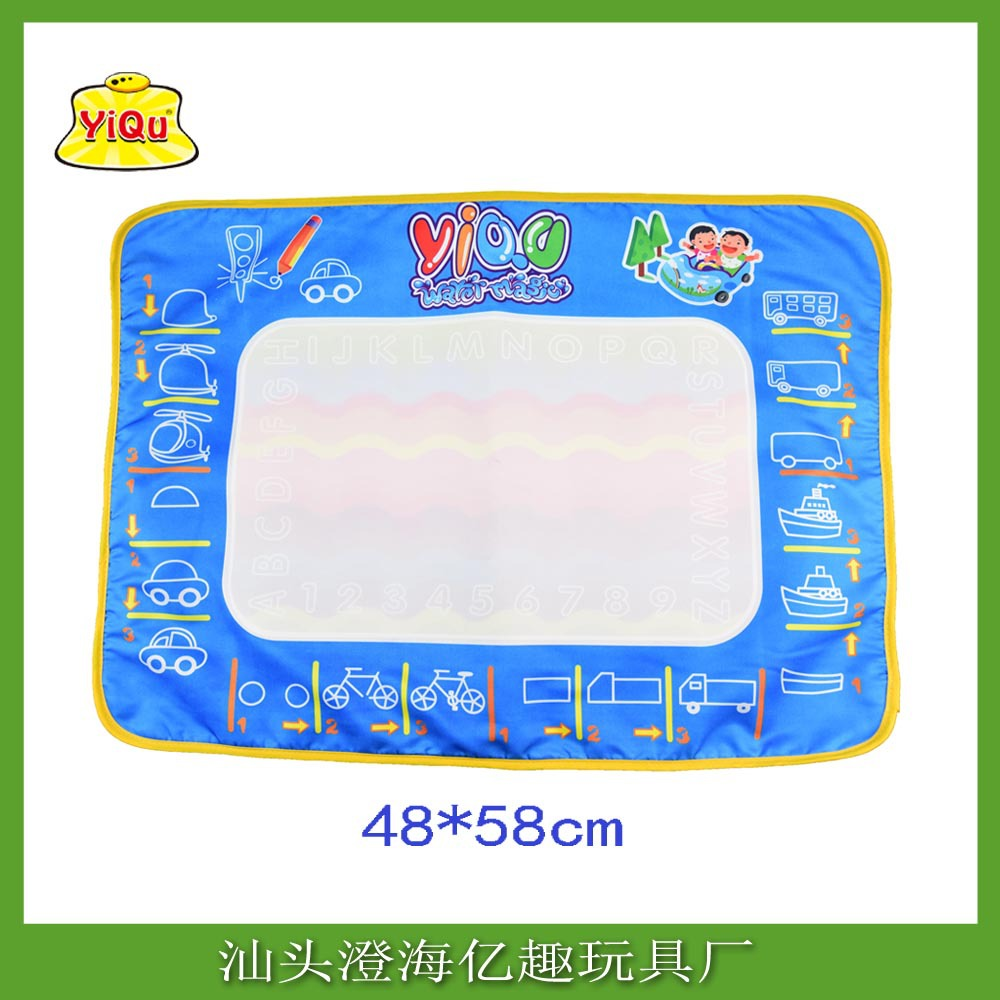 Yi Qu Yiqu Children Magic Water Canvas Export Customizable Canvas OPP Bag Packaging 48X58 Cm