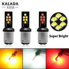 цена на 1X Super Bright Canbus Car Led No Error Car Bulbs S25 1156 BA15S 1157 BAY15D P21/5W For Auto Turn Signal Reverse Lamp 12V Red