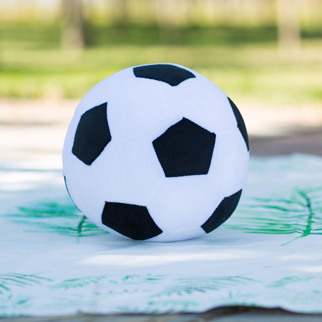 Kids Creative Imitation Football Basketball Plush Pillow Stuffed Plush Toys Baby Early Education Toy Baby Boys and Girls Gifts