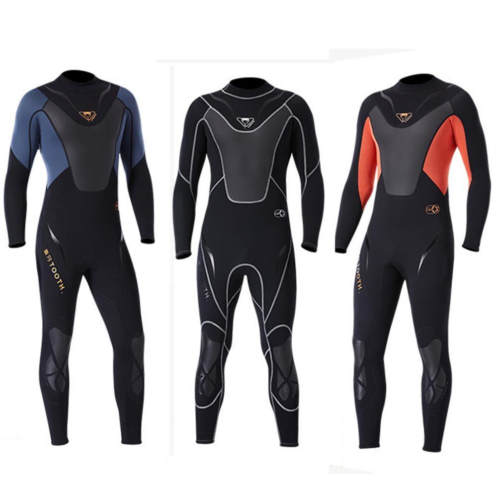 Fullbody hommes 3mm néoprène combinaison surf natation combinaison de plongée Super Stretch Triathlon maillots de bain Sport plongée maillots de bain surf