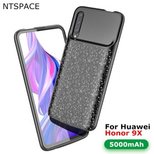NTSPACE 5000mAh Battery Charger Cases For Huawei Honor 9X Power Case Slim External Backup Bank Cover Charging