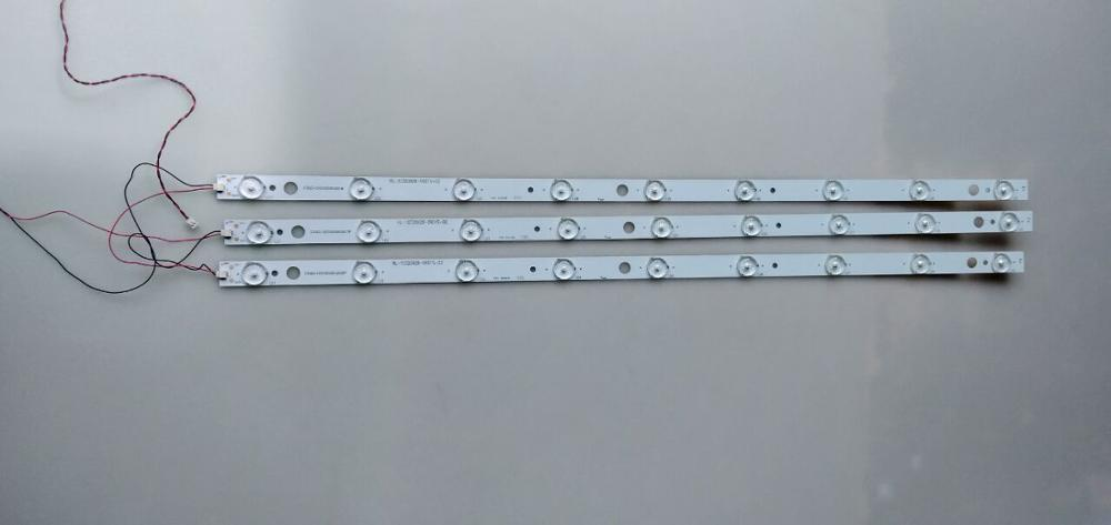 1lot=3pieces For B2232 LED32HD320 Led Backlight HL-10320A28-0901S-02 358P207850B 9lamps