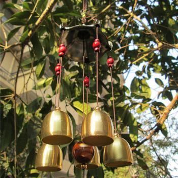 Outdoor Living Wind Chimes Yard Garden Tubes Bells Copper Antique Windchime Wall Hanging Home Decor Decoration wind chimes 14