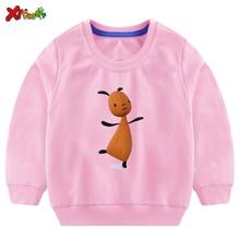 Baby Girls Sweatshirt Cartoon Fall Kids Clothes for Fashion Toddler Casual Active Girl Cute Rabbit