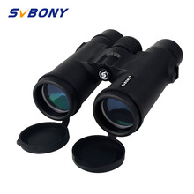 SVBONY SV-21 Binoculars 8x42 Multi-Coated Roof Prism with Twist-up Outdoor Binoculars for Hunting Bird Watching Camping F9117AB 8x21 kids binoculars compact binocular roof prism for bird watching educational learning christmas gifts children toys