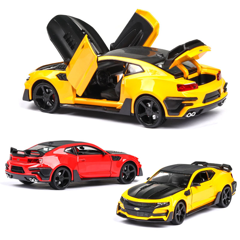 1:24 <font><b>Chevrolet</b></font> camaro car model alloy car die-cast toy car model car children's toy collectibles free shipping image