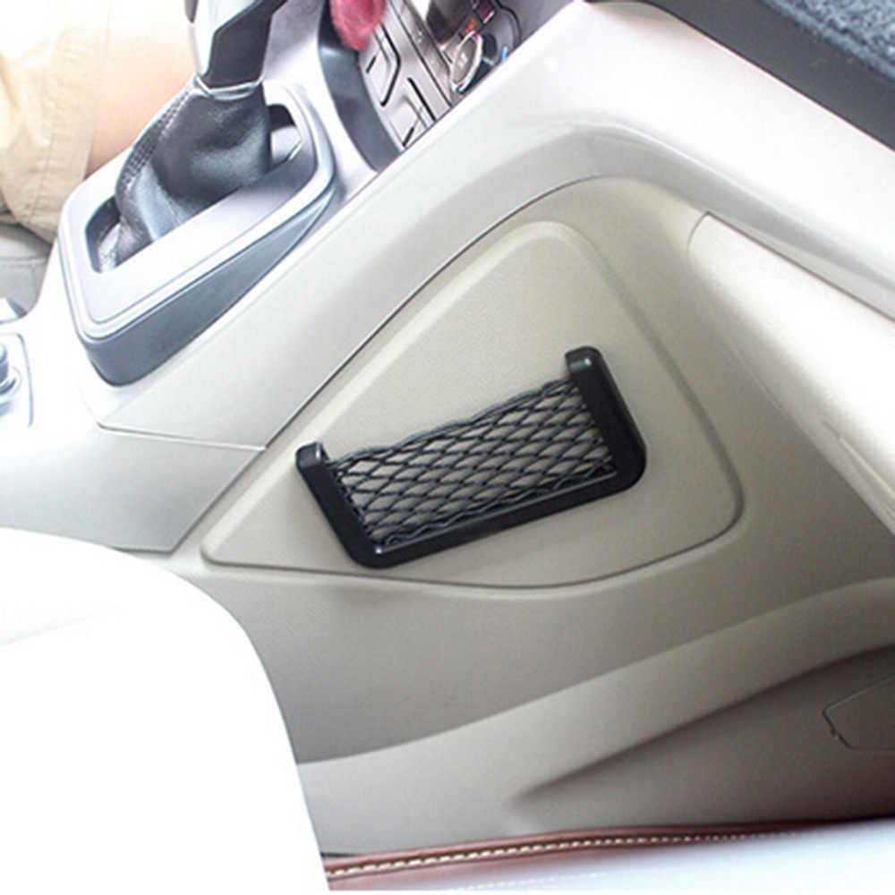 Coffre de voiture Boîte De Rangement Sac Filet Pour Audi A4 B5 B6 B8 A3 A5 A6 Q5 Q7 BMW E30 E34 E36 E39 E46 E90 E60 F10 F30 Organisateur